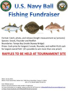 Fishing fund raiser